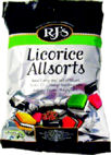 Rjs Licorice Allsorts 280g Bags