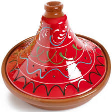 Spanish Terracotta Tagine in Red 20cm