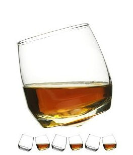 Sagaform Rocking Whiskey Glass 6pc