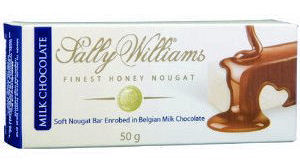 Sally Williams Nougat in Milk Chocolate 50g (image 1)