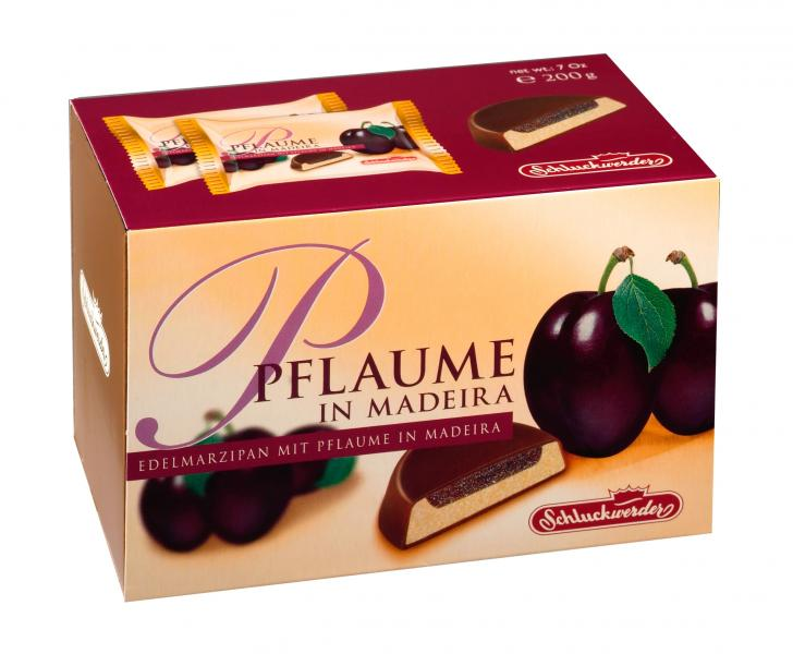 Schluckwerder Plum In Madeira and Dark Chocolate 200g