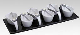Silea Appetizer Spoons 6pc (image 1)