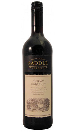 Saddle Creek Shiraz Cabernet 75cl 12.5% (image 1)