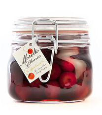 Somerset Cider Brandy Morello Cherries 50cl Kilner (image 1)