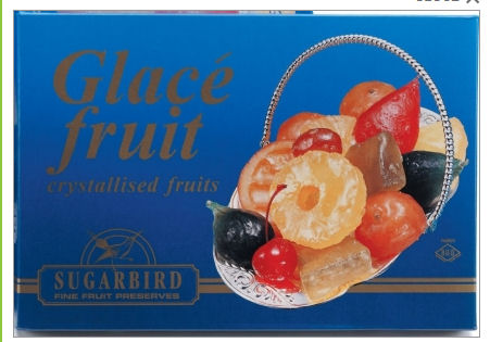 Sugarbird Glace Fruit Selection 500g