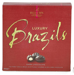 Beechs Dark Chocolate Brazil Nuts 100g