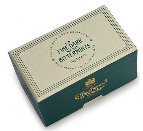Charbonnel Walker Fine Dark Chocolate Bittermints 140g