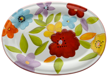 Laurie Gates Design Oval Platter