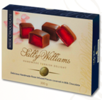 Sally Williams Turkish Delight in Milk Chocolate 300g