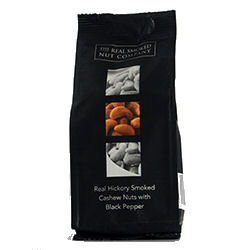 The Real Smoked Nut Hickory Smoked Cashews with Pepper 100g (image 1)