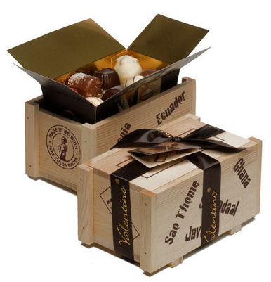Valentino Chocolates in Cargo Box 300g; Image shows 2 Boxes