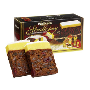 Walkers Strathspey Fruit Cake 500g
