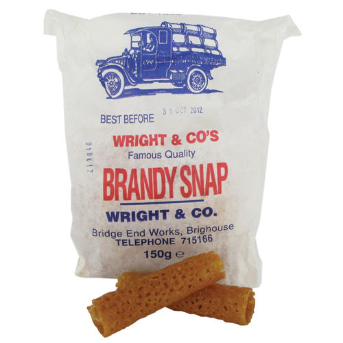 Wright & Sons Brandy Snaps 150g