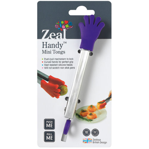 Zeal Mini Tongs Silicon Hands