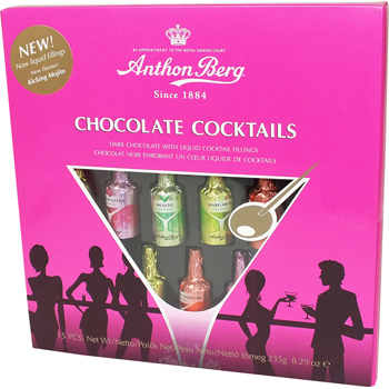 Anthon Berg Chocolate Cocktails