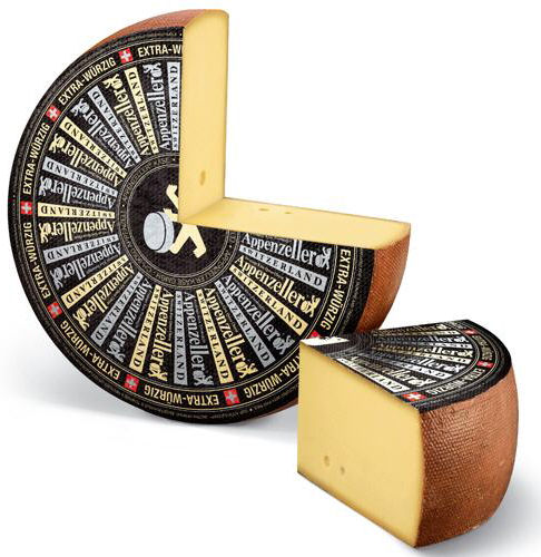 Aged Appenzeller Cheese Whole Wheel ... 8Kg!