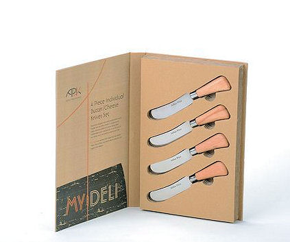 Arthur Price Butter or Cheese Knives 4 Pc