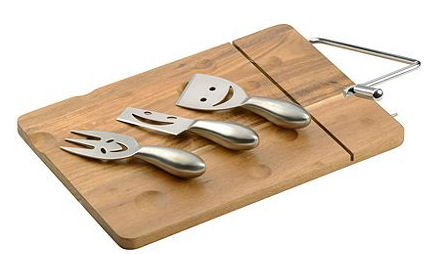 Arthur Price Cheese Board with Knives