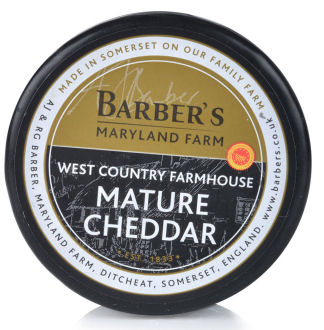 Barbers Mature Cheddar 200g