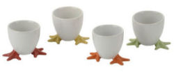 Bia Cordon Bleu Chicken Feet Egg Cups 4pc