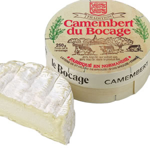 Bocage Raw Milk Camembert 250g