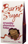 Burnt Sugar Crumbly Chocolate Fudge 150g