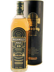 Bushmills 10 Year Single Malt 70cl 40%
