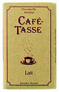 Cafe Tasse Milk Chocolate 75g