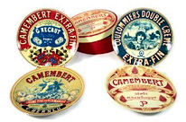 Bia Camembert Cheese Plates 4pc 20cm