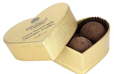 Charbonnel Walker Mini Gold Heart Truffles 34g 3Pc (image 1)