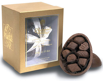Charbonnel Walker Milk Chocolate Easter Egg with Milk Chocolates 225g (image 1)