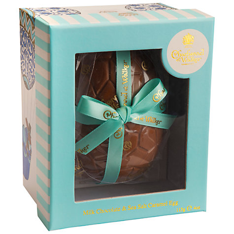 Charbonnel Walker Milk Chocolate Easter Egg with Sea Salt Caramel 115G