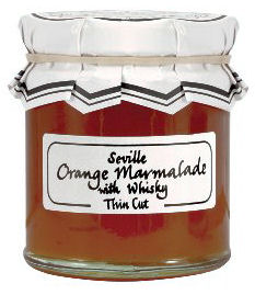 The Cheese And Wine Shop Seville Orange Marmalade With Whisky 340g (image 1)