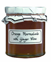 The Cheese And Wine Shop Orange Marmalade With Ginger 340g