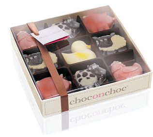 Choc on Choc Farmyard Animals 200g (image 1)