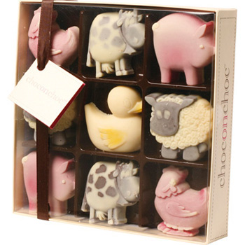 Choc on Choc Farmyard Animals