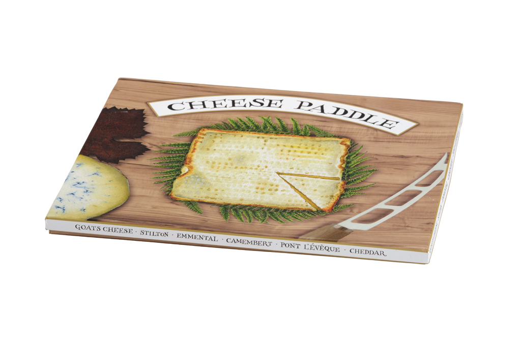 Claire Mackie Cheese Paddle Box