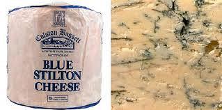 Colston Bassett Baby Blue Stilton Truckle
