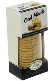 Cottage Delight Oval Alberts 150g Giftbox