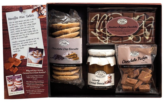 Cottage Delight Chocolate Caramel  Lovers Giftbox
