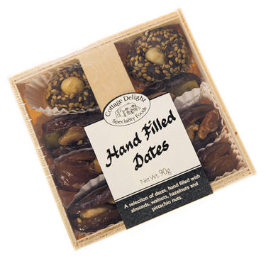 Cottage Delights Hand Filled Dates 90g (image 1)