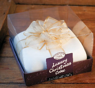 Cottage Delight Luxury Christmas Cake 1200g (image 1)