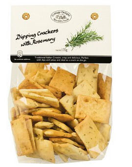 Cottage Delight Italian Dipping Crackers With Rosemary Bread 170g (image 1)