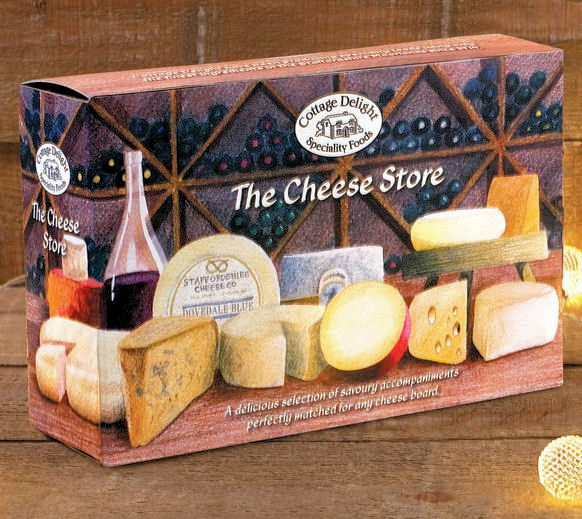 Cottage Delight Cheeseboard Indulgence