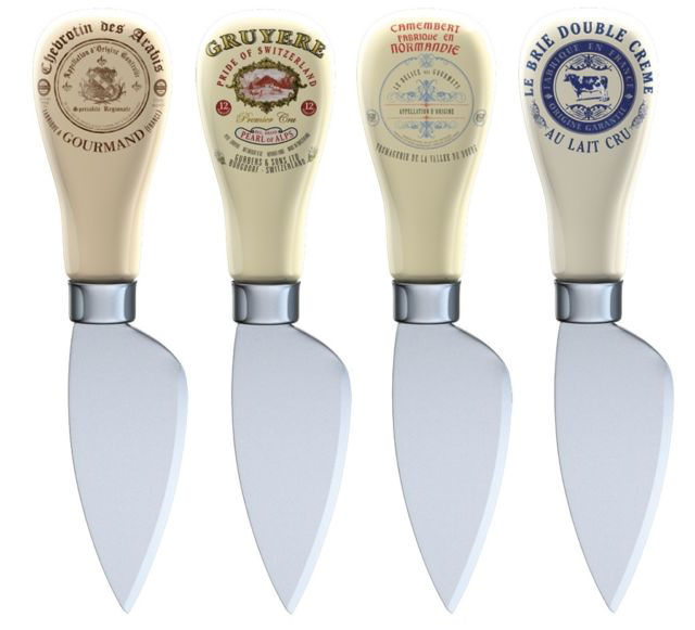 Creative Tops Gourmet Cheese Knives Set 4 Pc