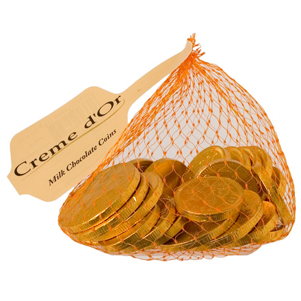 Milk Chocolate Money 100g