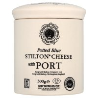 Cropwell Bishop Blue Stilton with Port 200g