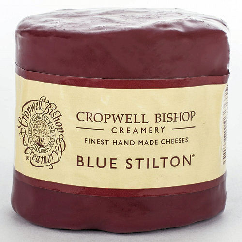 Cropwell Bishop 225g Blue Stilton Waxed Truckle