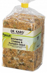 Dr Kargs Organic Spelt Bread with Emmental (image 1)