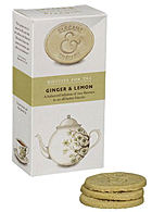 Artisan Biscuits for Tea Ginger and Lemon 125g